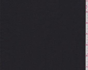 Black Taffeta Polyester Jacketing, Fabric By The Yard