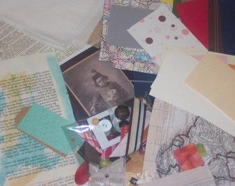 Collage/Ephemera/ Journal Fodder