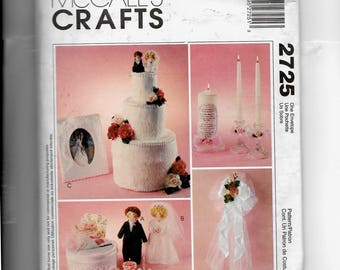 McCall's Bridal Accessories Pattern 2725