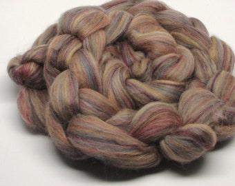 Merino Wool Roving  Sandalwood 4 ounces