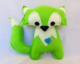 music box fox (green)