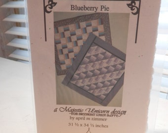 Blueberry Pie quilt pattern