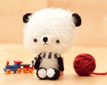 Panda bear plushie - made to order -