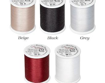 Nozue Sonoko nylon thread, nylon thread Nozue Sonoko 0.29mm 110 yards, Nozue Sonoko nylon beading thread 110 yards spool diameter 0.29mm.