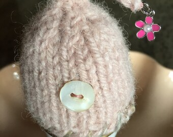 Knitted and Hand Felted Egg Cozy