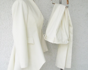 Amazing Wedding Tuxedo---Custom Made for Women