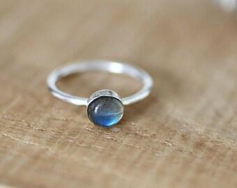 Labradorite Stacking Ring, Labradorite, Labradorite Jewellery