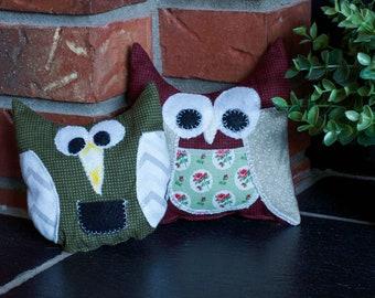 Tooth Fairy Pillows - owls