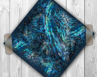 Digital Paper ABALONE Scrapbooking. Abalone Pattern Digital Paper Pack. Abalone texture. Ocean Tones. Abalone Theme. Seashell
