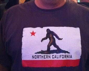 Northern California Bigfoot Shirt