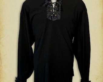 Sir Alexandre medieval shirt clothing for men LARP costume and cosplay