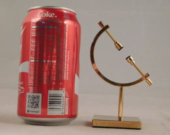 One SMALL Sized Quality Brass CALIPER Display Stand! for Meteorites and More!!