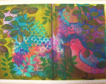 Fabric Sketchbook Page 2