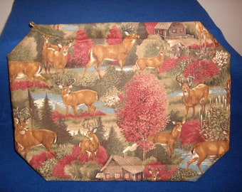 Deer in Forest Placemats - Set of 4