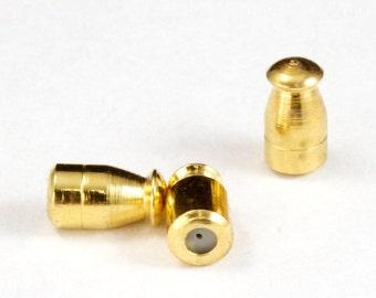 7mm Gold Stick Pin End #MFA050