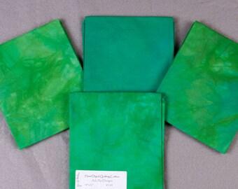 Gem Beryl Hand-Dyed Quilting Cotton Fat Quarter