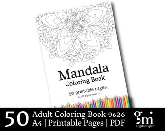 Coloring Book, Adult Coloring Pages, Coloring Book Pages, Mandala Coloring Pages, Coloring Book Adult