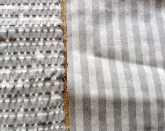 two cut cotton viscose color natural and taupe