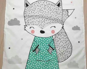 Baby blanket, nursery, blanket