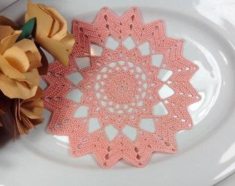 Small Crochet DOILY / crochet doilies Crochet lace small doily/ Home decor/ Doilies small doily, crochet coastes, crocheted doily doilies