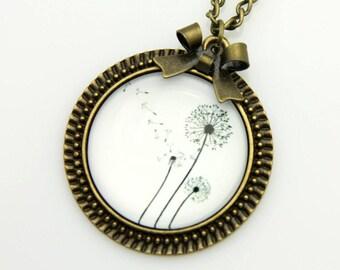Dandelions Necklace, 2525C