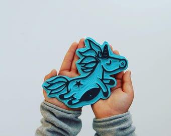 Unicorn stamp sello unicornio