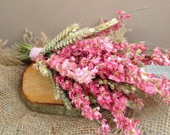 Simply Pink petite bridal bouquet