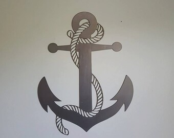 Nautical Anchor Metal Art