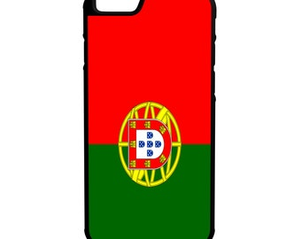 Flags of Portugal iPhone Galaxy Note LG Protective Hybrid Rubber Hard Plastic Snap on Case 4 Variations