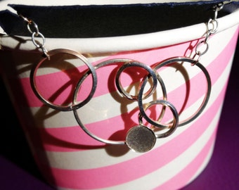 Many rings necklace