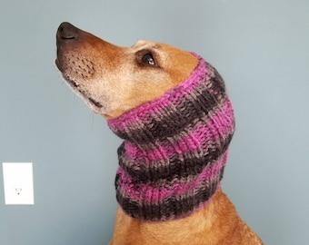 Dog Snood-Custom Knit Dog Snood and Cowl