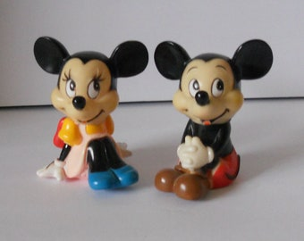 Vintage Mickey and MInnie Mouse Banks