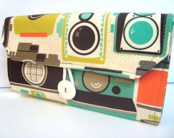 Cash Envelope / Coupon Wallet / Dave Ramsey System / ZIPPER Envelopes Vintage Camaras