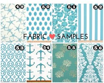 Fabric Sample-Throw Pillow-Valances-Fabric-Decorative Throw Pillow Cover Fabric Swatch Decorator Fabrics 100 Plus Fabrics IN STOCK