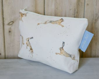 Hare Make up/ Wash Bag