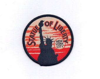 Vintage Statue of Liberty Patch
