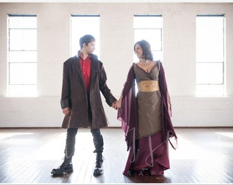 Firefly inspired Inara dress Cosplay or Wedding dress
