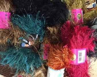 Eyelash  Yarn Art Yarn Choice of colors Festive Fur