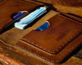 Wallet, Credit Card Wallet, Slim Card Case, Leather Wallet