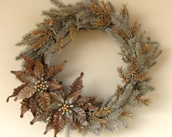 Modern Christmas Wreath
