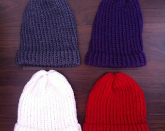 Hand Knitted Slouch Beanie