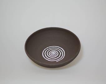 Ceramic Bowl Brown