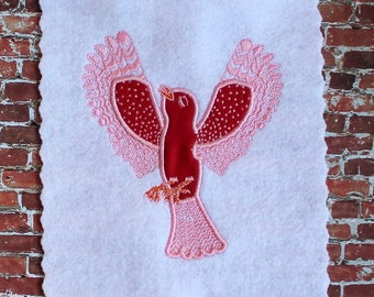 Jet James Bird Applique