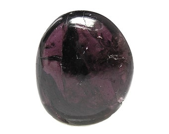 Rhodolite Garnet Tumble Polished Semiprecious Gemstone, Pocket Gem, Geo Treasure Wine color Jewel, DIY Craft Stone