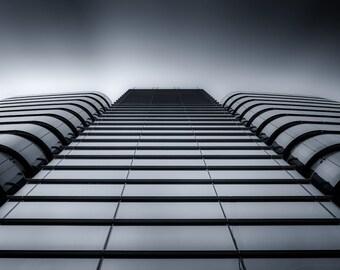 London Fine Art Photo Print: City Architecture, Building, Metallic, St Botolph,