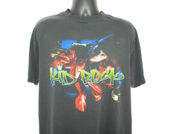 1998 Kid Rock Vintage Bawitdaba Era Devil Without A Cause Album Promo Classic 90's Pop Culture Nu Metal Rap Rock Concert Tour T-Shirt