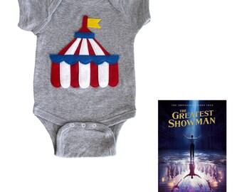 Circus Tent - Infant Bodysuit - The Greatest Showman x mi cielo