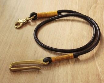 Leather Lanyard,Lanyard ,leather strap,Leather key fob  (MC-34)