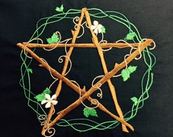Pentacle of Venus Altar Cloth