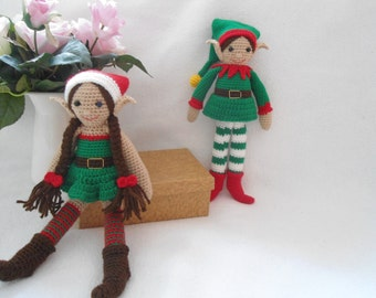 Christmas elf crochet pattern